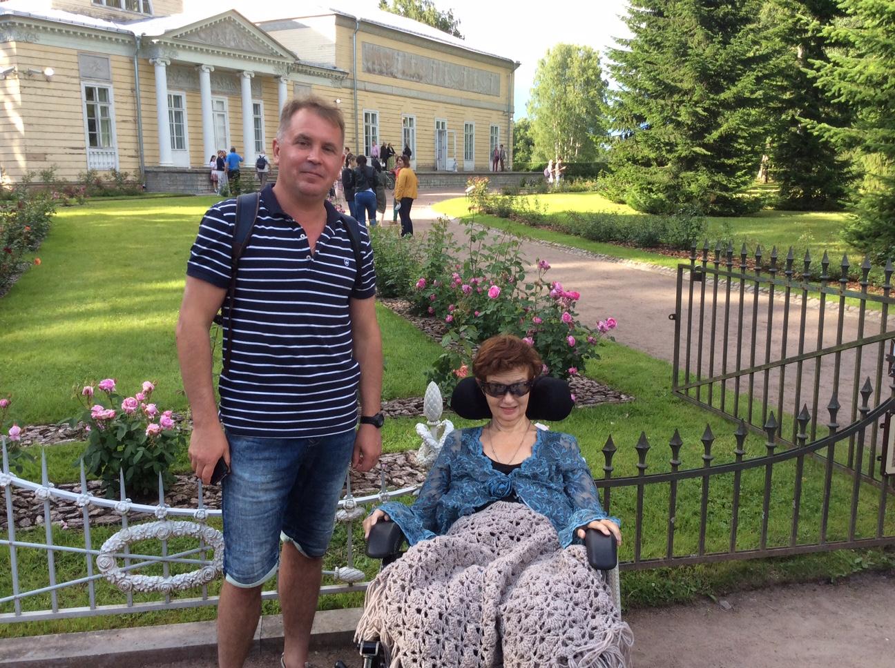 Со специалистом по дыхательной поддержке Дмитрием в Павловске