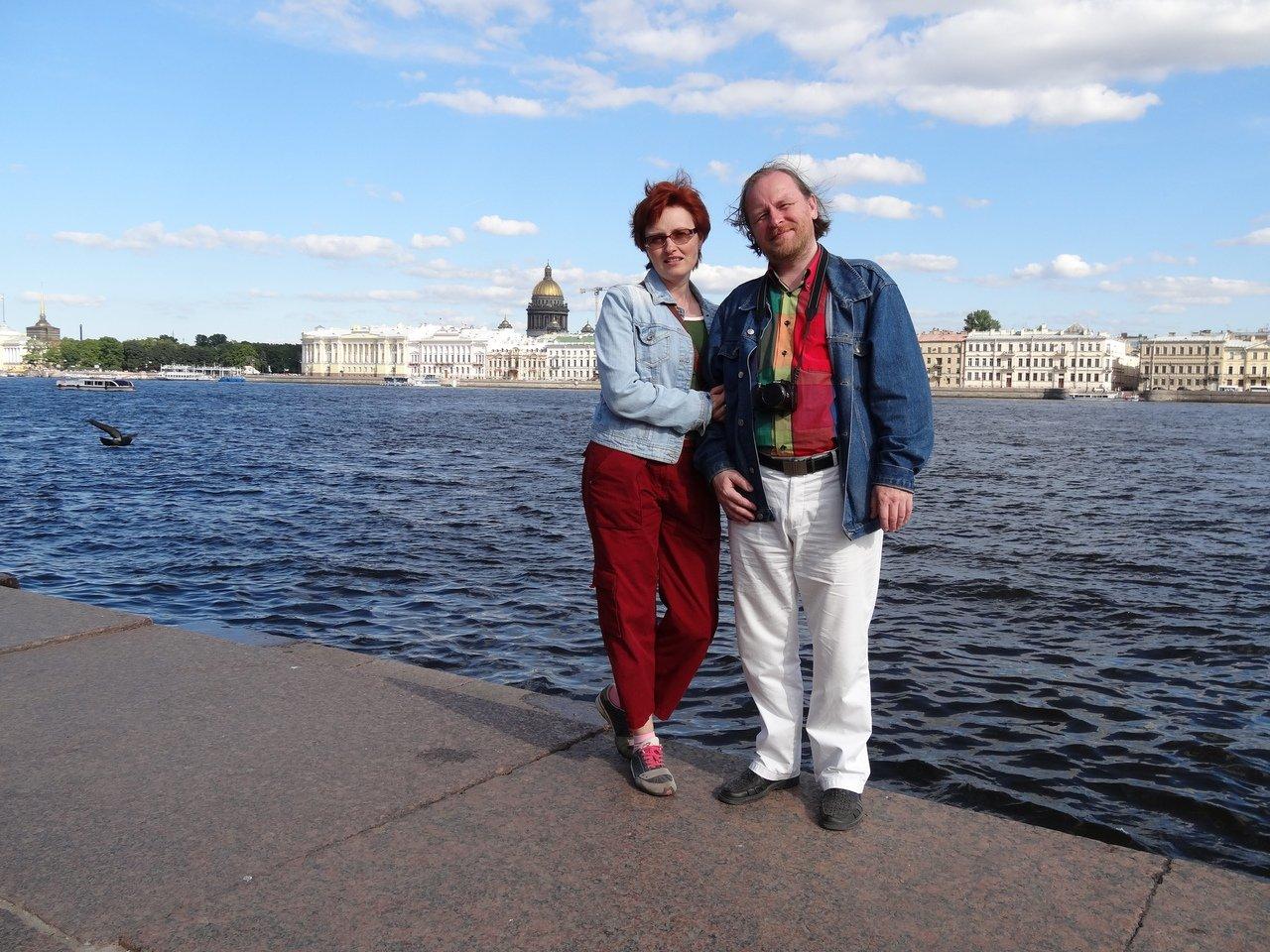 Ольга и Андрей Пискуновы