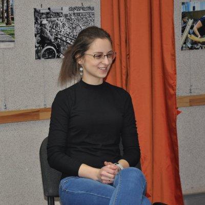 Интервью с волонтером проекта «Мы вместе» Марией Ильвес