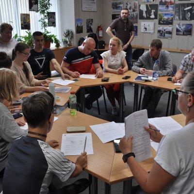 О подготовке волонтеров проекта «Мы вместе» к фестивалю